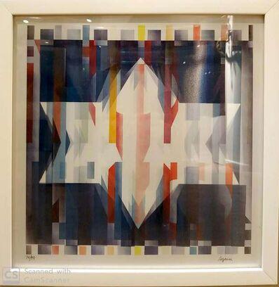 Yaacov Agam, 'Magen David', 1975