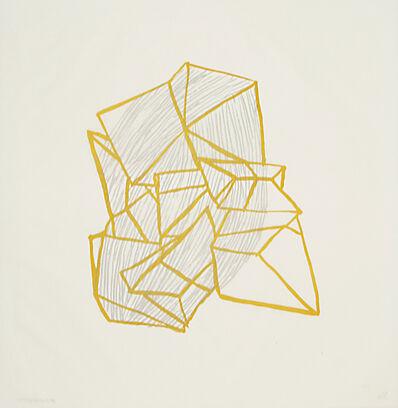 Anna Hepler, 'Conglomerate (ochre)', 2010