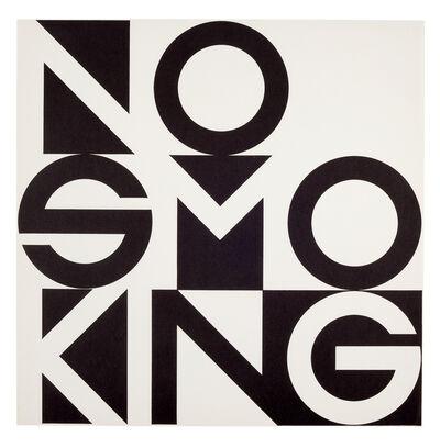 George Brecht, 'No Smoking', ca. 1973