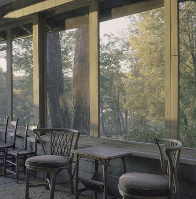 Shellburne Thurber, 'Screen Side Porch in Late Afternoon', 2019