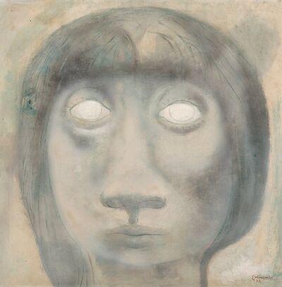 Eduardo Kingman, 'Cabeza de Muchacha Ciega', 1978