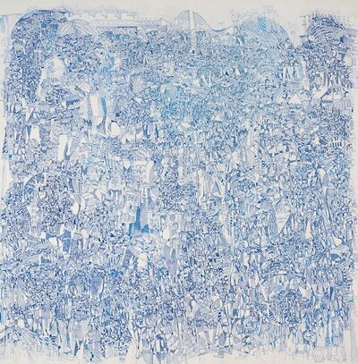 Houston Maludi, 'Blue time', 2020