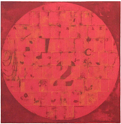 Robert Courtright, '1/2 Red Circle', 1982