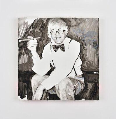 Ida Tursic & Wilfried Mille, 'David Hockney smoking smiling and shining', 2016