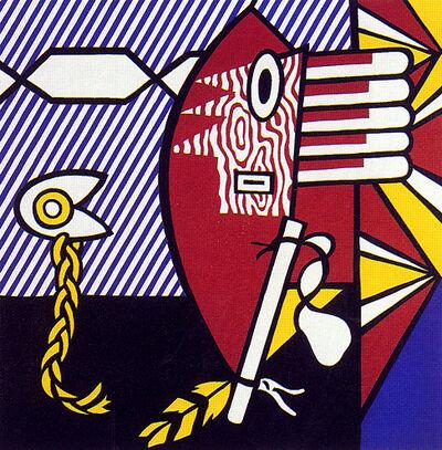 """Roy Lichtenstein, '""""American Indian Theme I""""', 1980"""