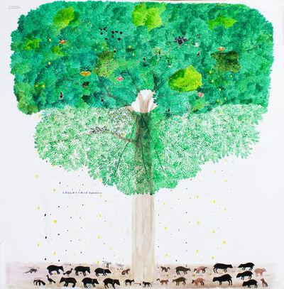 Abel Rodríguez, 'Árbol de la vida y la abundancia', 2020