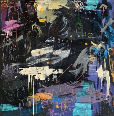 Gopal Dagnogo, 'Dans la nuit noire I', 2019