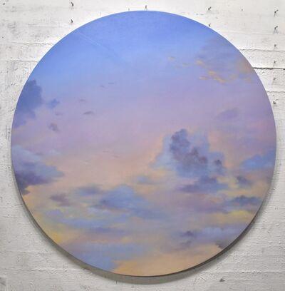 Willard Dixon, 'Lush Sky - circular painting', 2021
