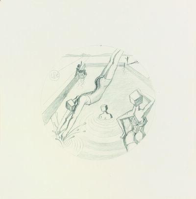 Salvador Dalí, ' Natación en el Ampurdan', 1978