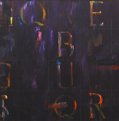Kikuo Saito, 'Purple Weed', 2001