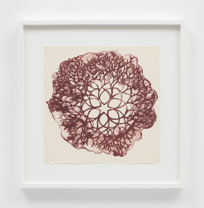 Ruth Asawa, 'Desert Plant (TAM.1560, Tied-Wire Sculpture Drawing with Six-Pointed Star Center)', 1965