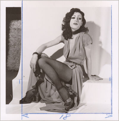 Michel Journiac, 'Piège pour un travesti / Tirage préparatoire - Rita Hayworth', 1972