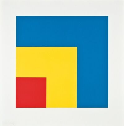 Ellsworth Kelly, 'Red Yellow Blue', 1999-2000