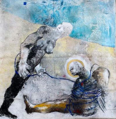 Sadikou Oukpedjo, 'Question mark ', 2018