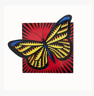 Burton Morris, 'Monarch Butterfly', 2015