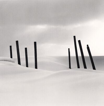 Michael Kenna, 'Eight Posts, Rumoi, Hokkaido, Japan', 2004