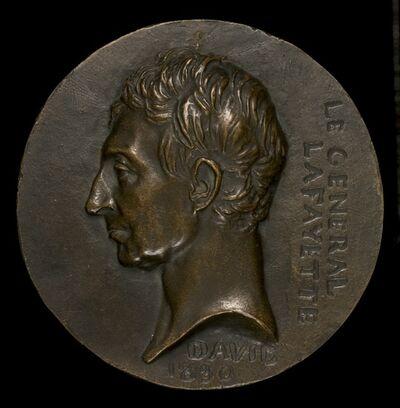 Pierre-Jean David d'Angers, 'Marie-Joseph-Paul-Yves-Roch-Gilbert du Motier, Marquis de Lafayette, 1757-1834, General and Statesman', 1830