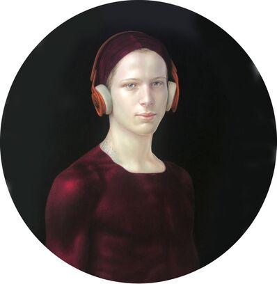 Salustiano, 'Medicine Bow (Diego con cascos)', 2020