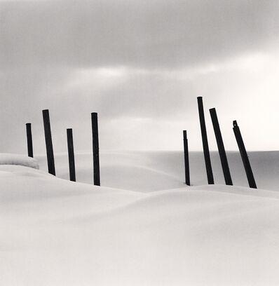 Michael Kenna, 'Eight Posts, Rumoi, Hokkaido, Japan. ', 2004