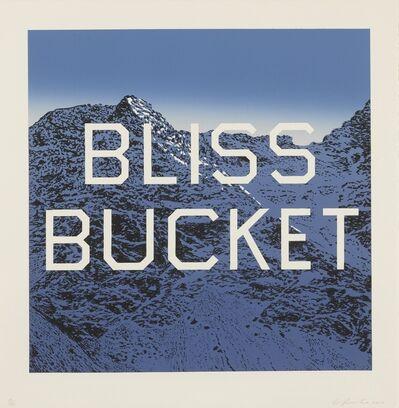 Ed Ruscha, 'Bliss Bucket', 2010