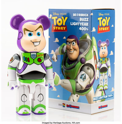 BE@RBRICK X Disney, 'Buzz Lightyear 400%, from Toy Story', 2015
