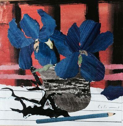 Marzia Colonna, 'Iris on Red', 2015