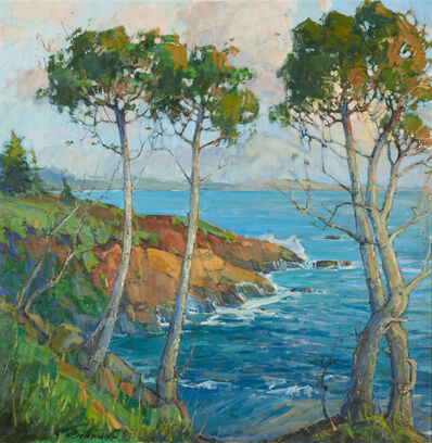 Karl Dempwolf, 'Point Lobos Sunset'