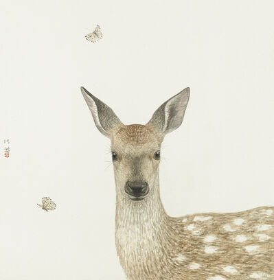He Xi, 'Singing Deer', 2019