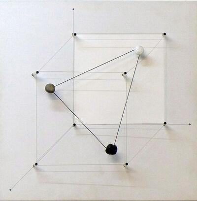 Haruhiko Sunagawa, 'Le triangle dans le cube II', 2003
