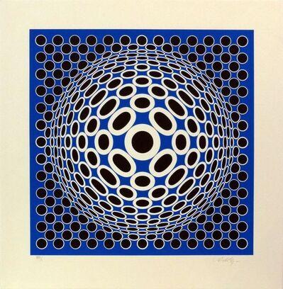 Victor Vasarely, 'Tuz 72 ', ca. 1970