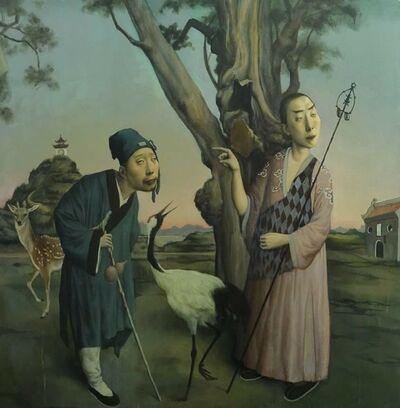 Jeffrey Wang, 'A Buddhist and a Taoist Priest', 2016