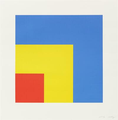 Ellsworth Kelly, 'Red Yellow Blue', 1999