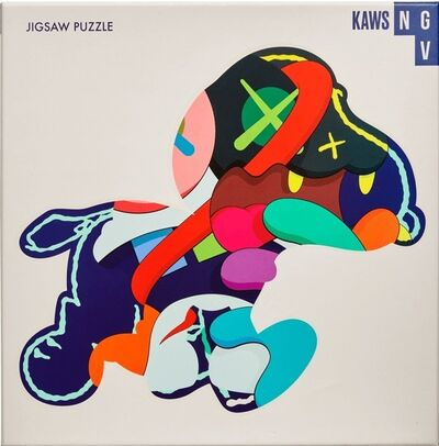 KAWS, 'Stay Steady (Puzzle)', 2019