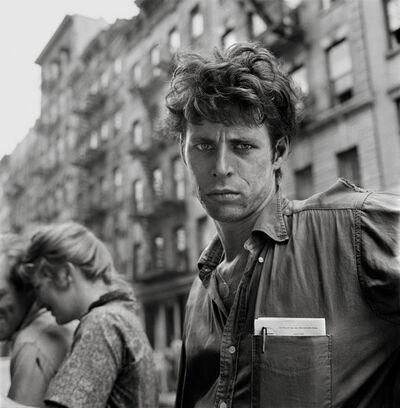 Larry Fink, 'Turk Leclair, MacDougal Street, New York', 1958