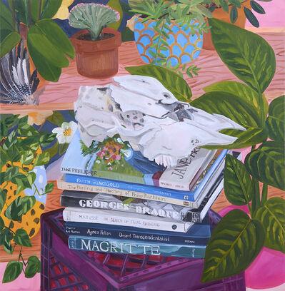 Anna Valdez, 'Broken Cow Skull on Studio Books', 2019