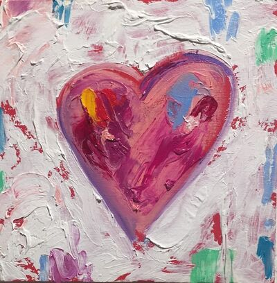 Tim Collom, 'Pink Heart', 2019