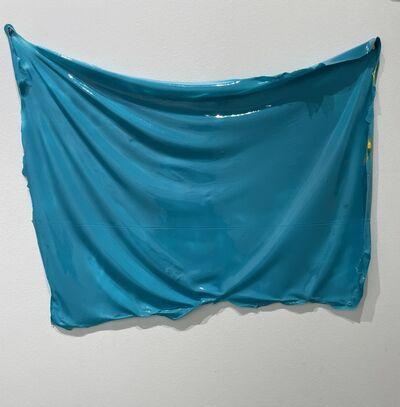 Lesley Bodzy, 'Blue Green Wall Drape', 2020