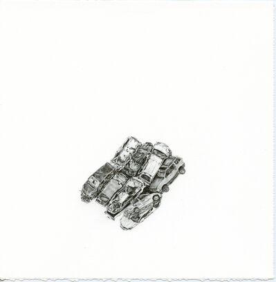 Samantha Scherer, 'Crumpled Cars (1)', 2016