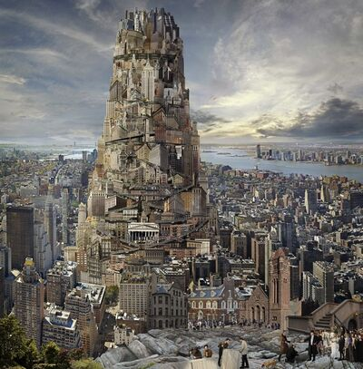 Jean-François Rauzier, 'Babel Kircher, New York', 2015
