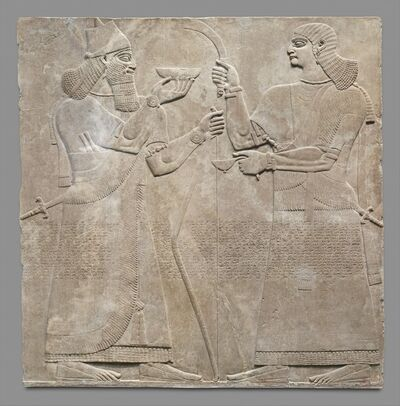 Unknown Assyrian, 'Relief panel', ca. 883–859 B.C.
