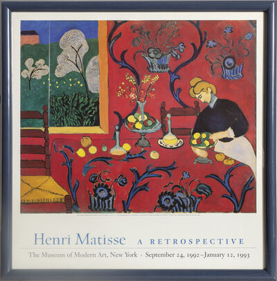 Henri Matisse, 'Harmony in Red', 1993
