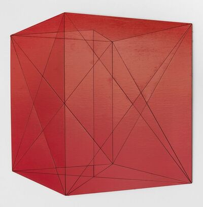 Kate Shepherd, 'cubestudy.s9, red', 2015