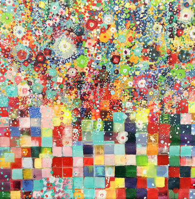 Fabio Bianco, ' FLOWERS PIXEL', 2020