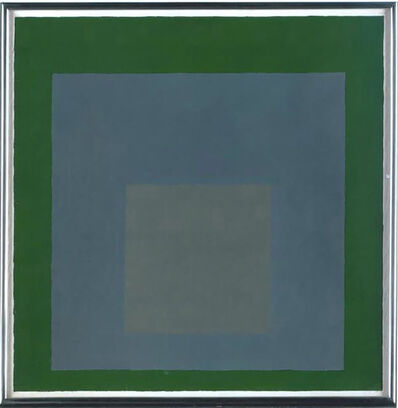 Josef Albers, 'Study for the Homage to the Square', 1965