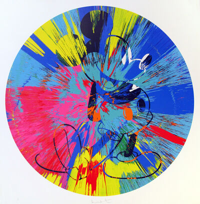 Damien Hirst, 'Beautiful Mikey (Spin)', 2015