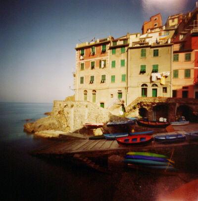Dianne Bos, 'Cinque Terra, Riomaggiore, Red Boat', 2004