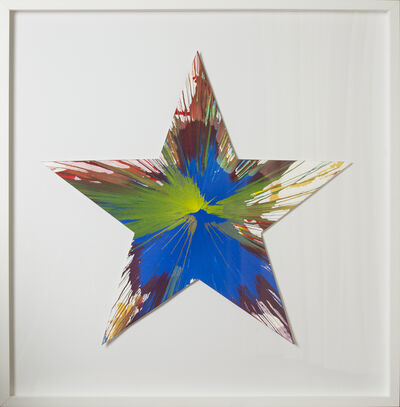 Damien Hirst, 'Spin Painting - Star ', 2009