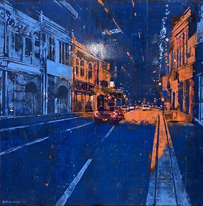 Nicholas Choong, 'KL In Complimentary Blue & Orange (KL73)', 2020
