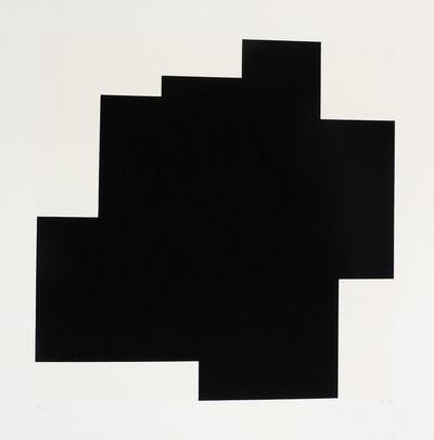 Aurelie Nemours, 'Structure du Silence I', 1989