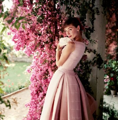 Norman Parkinson, 'Audrey Hepburn photographed wearing Givenchy', 1955